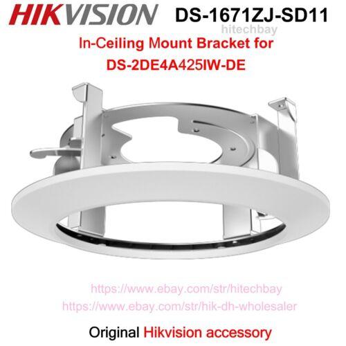 """Hikvision DS-1671ZJ-SD11 Ceiling Mount Bracket 4"""" PTZ Camera DS-2DE4A425IW-DE"""