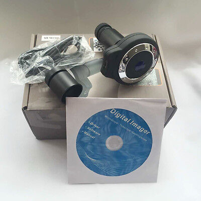 New Microscope Digital Camera 1.3 Mp Usb Eyepiece 23.2mm 30mm