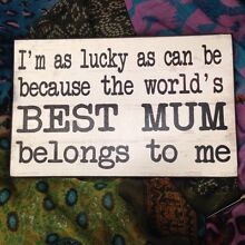 Mother's Day signs/plaques Point Clare Gosford Area Preview