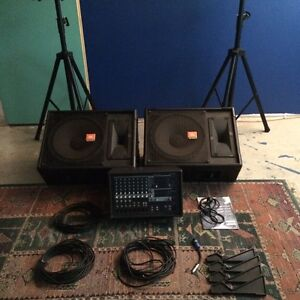 Priced to sell! PA System - Yamaha, JBL, Quest Ridgehaven Tea Tree Gully Area Preview