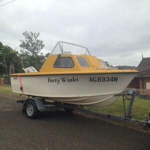 14ft  boat Mount Hutton Lake Macquarie Area Preview