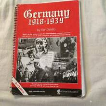 HSC Germany******1939, Ken Webb, 2nd Edition Randwick Eastern Suburbs Preview