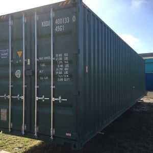 40ft High Cube Shipping Container Bundaberg Central Bundaberg City Preview