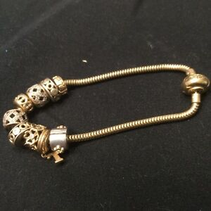 Michael Hill gold charm bracelet Burleigh Waters Gold Coast South Preview