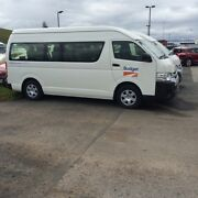 2013 Toyota Hiace Commuter Hobart CBD Hobart City Preview