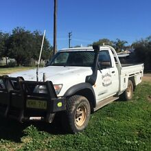 1999 GQ Turbo Diesel Nissan Patrol Ute Brewarrina Brewarrina Area Preview
