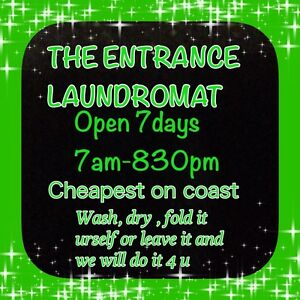 Laundromat The Entrance Wyong Area Preview