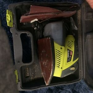 Ryobi hand sander excellent condition with various sanding pads Marsfield Ryde Area Preview