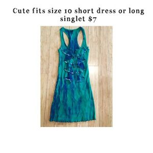 Size 10 short dress or long singlet great condition Upper Coomera Gold Coast North Preview