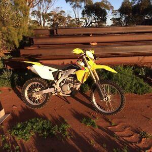 Suzuki RMX 450 Z Dirt bike Three Springs Three Springs Area Preview
