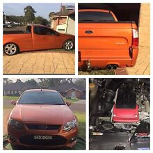 Ford XR 6 Turbo ute Medowie Port Stephens Area Preview