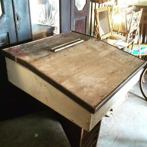 Vintage Wooden Writing Slope Truro Mid Murray Preview