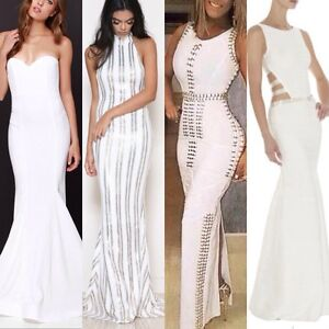 Bandage Maxi Gown Mermaid Prom Ball Cocktail Evening Formal Dress Surfers Paradise Gold Coast City Preview