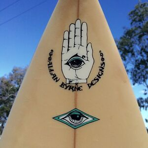 """Byrning Spears surfboard 6'8"""" by Al Byrne Biggera Waters Gold Coast City Preview"""
