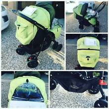 NEWISH CONDITION STEELCRAFT PRAM COMES WTH RAINCOVER AND NEWBORN Mountain Creek Maroochydore Area Preview
