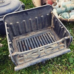 Vintage Cast Iron Fire Grate with Ash Drawer Truro Mid Murray Preview