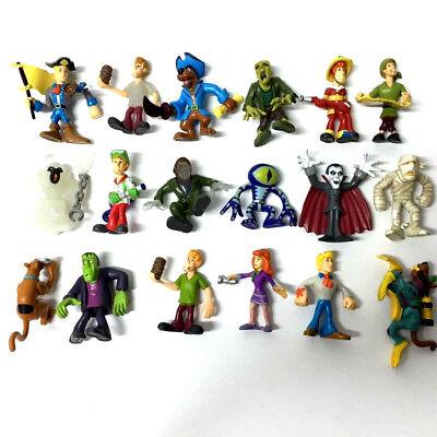 random 7pcs Lot Scooby Doo Crew Pirates Mates Shaggy Fred Velma Daphne Figures - Velma Scooby Doo