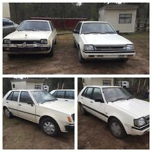 1980 & 1990 Mitsubishi Colts Londonderry Penrith Area Preview