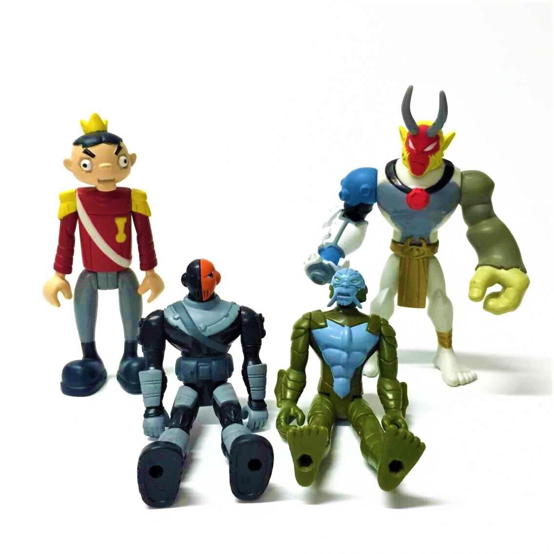 Lot 4Pcs Dc Comics Teen Titans Go Slade Bandai The Puppet -3584