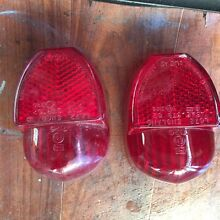 Triumph Mark 3 tail lights. North Tivoli Ipswich City Preview