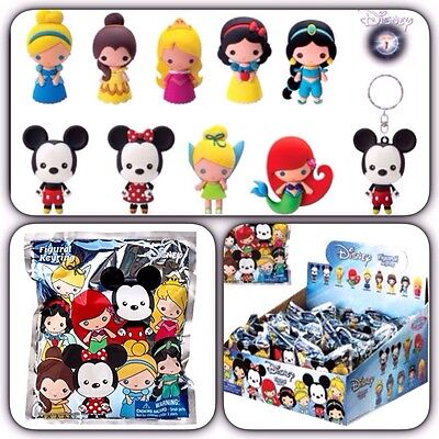 Disney Collectible Figural Key Chain Key Ring ( One Blind Bag )