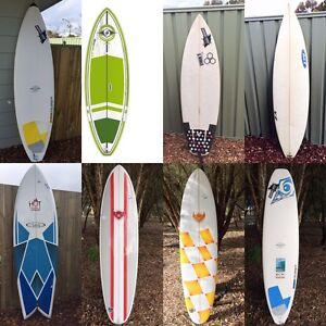 Surfboards, leashes, boardbags, SHARKSTRIPES Etc Margaret River Margaret River Area Preview