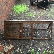 Rabbit wooden and wire grass run with hutch area Canning Vale Canning Area Preview