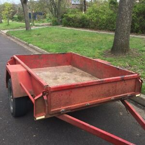 6 X 4 Heavy Duty Resort Trailer Canberra City North Canberra Preview