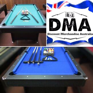 DMA Online: Clearance Sale on all Pool Tables
