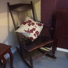 Wooden Rocking Chair Richmond Hawkesbury Area Preview