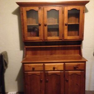 Buffet and Hutch pine timber Kemps Creek Penrith Area Preview