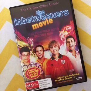 The Inbetweeners movie DVD Jerrabomberra Queanbeyan Area Preview