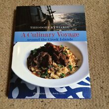 A culinary voyage around the Greek island cook book Burnley Yarra Area Preview