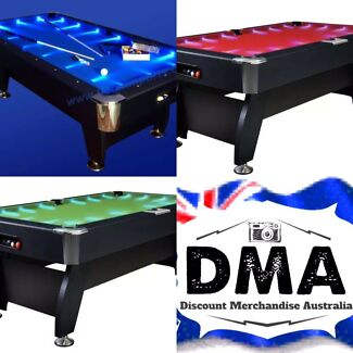 Brand New Cheap LED Pool Tables! FREE DELIVERY!