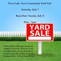 First Lake Drive Area Community Yard Sale