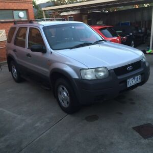 2002 FORD ESCAPE BA XLS - SILVER 1 year reg plus road worthy included! Coburg Moreland Area Preview