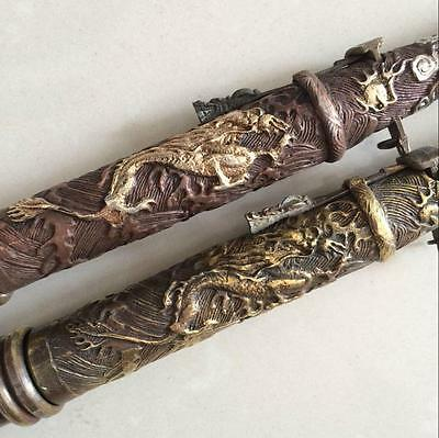 antique The ancient Chinese weapons hidden in the sleeve cuff sword 2
