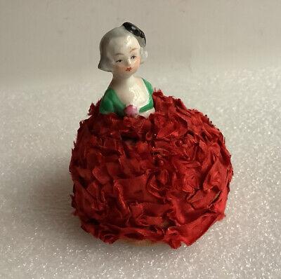 Beautiful handmade pincushion with Hungarian motif home decor exclusive gift