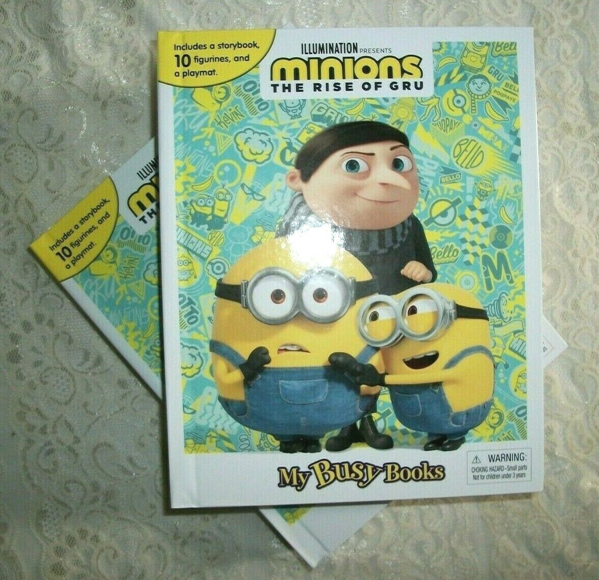 new my busy books minions the rise