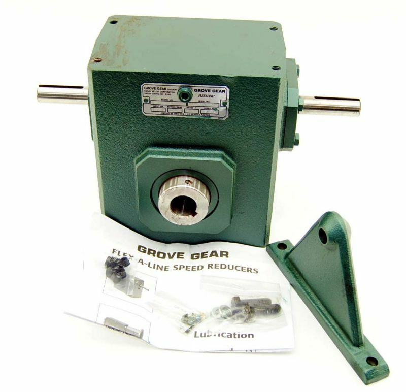 "New! Grove Gear H226-1A 10:1 Coupled Speed Reducer 1"" D"