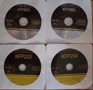 KARAOKE CDG  4   Discs 60   Songs Rock ,Pop & Country NEW