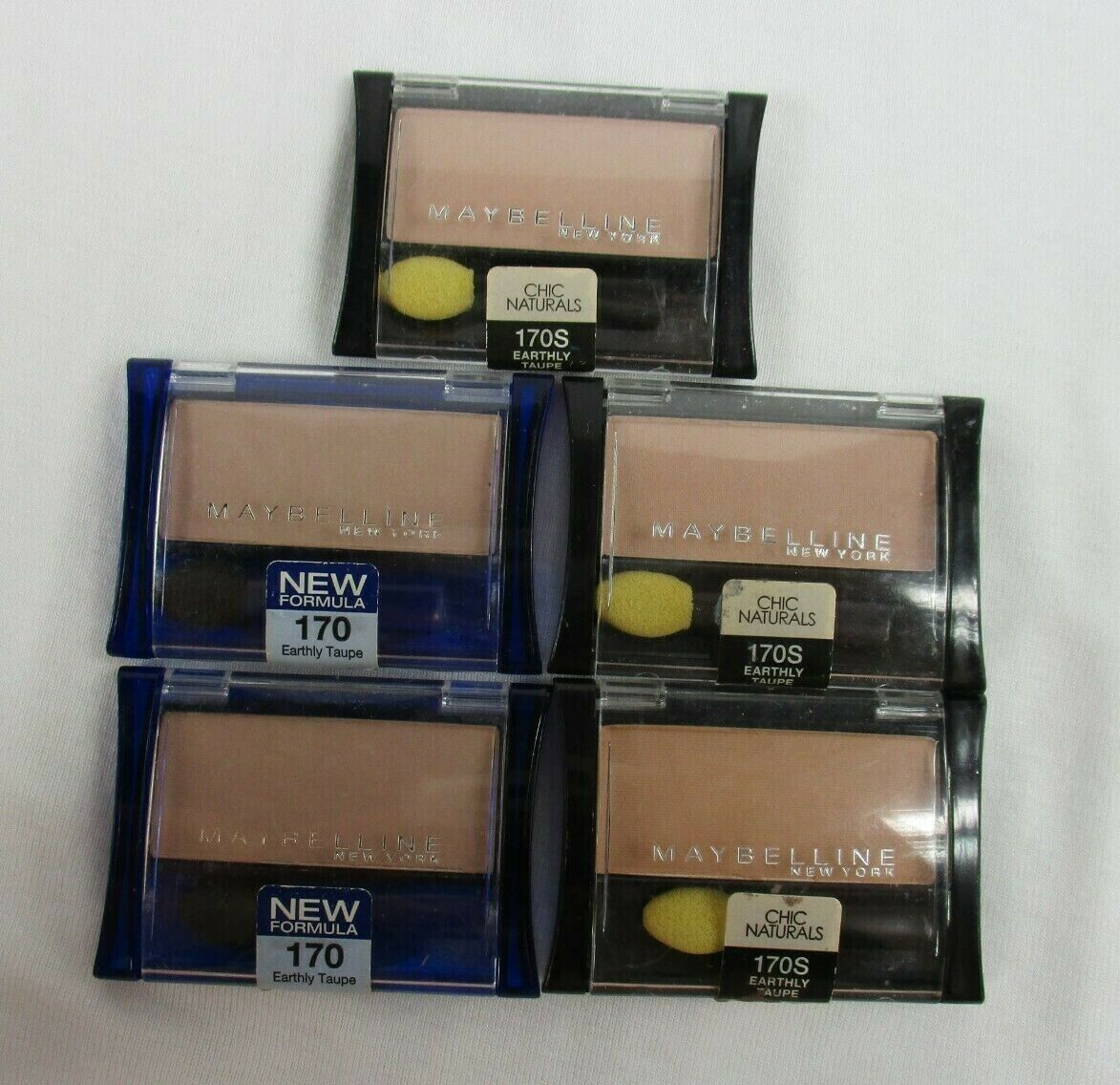Maybelline New York Expert Wear Eyeshadow Singles, Earthly T