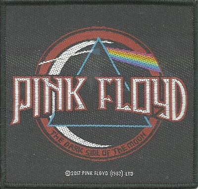PINK FLOYD distressed dsotm 2017 -  WOVEN SEW ON PATCH official merchandise