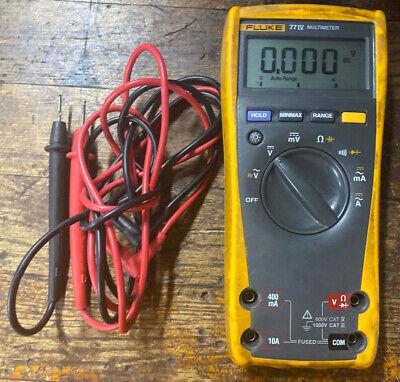 Fluke 77iv With Leads Digital Multimeter Dmm