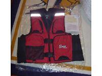 Ranger Boats TourGear Mens Large Black Waterproof Rain Jacket NWOT