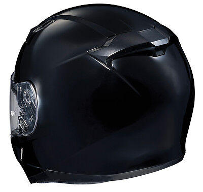 HJC CL-17 Motorcycle Helmet Gloss Black XXXL 3XL Extra Extra Extra Large DOT