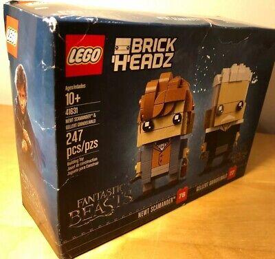 LEGO BrickHeadz Newt Scamander & Gellert Grindelwald. New in box.
