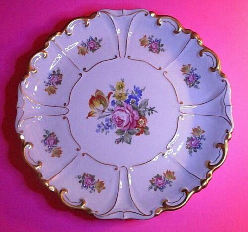 """JLMENAU Graf von Henneberg Large Plate  Serving Platter 12"""" EXCELLENT CONDITION"""