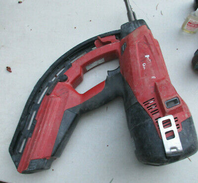Hilti Fastening Gas Power Actuated Nail Gun Gx 120 Tested Works Great