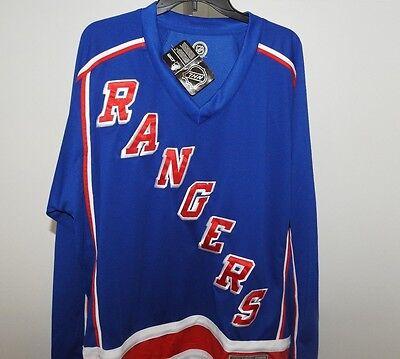 NHL New York Rangers Hockey Jersey New Mens Sizes MSRP $60](Hockey Nhl)